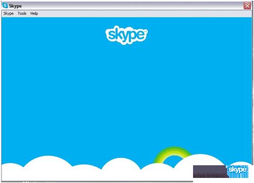 登录Skype桌面版时遇到的问题—蓝屏